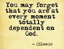 You may forget 