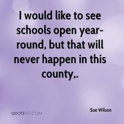 I would like to see 