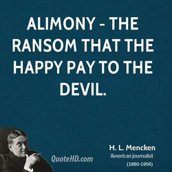 ALIMONY - THE 