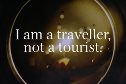 I am a traveller, 