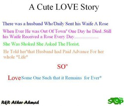 A Cute LOVE story 