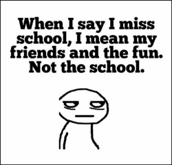 When I say I miss 