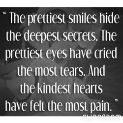 The prettiest smiles hide 