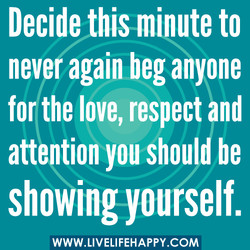 Decide his mqute to 