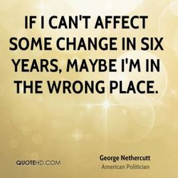 IF I CAN'T AFFECT 
