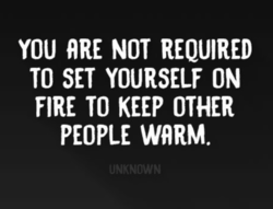 YOU ARE NOT REQUIRED 