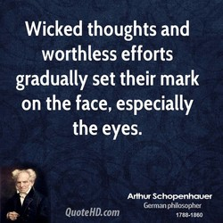 Wicked thoughts and 