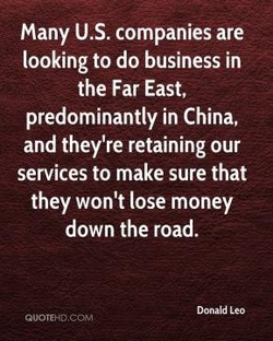Many U.S. companies are 
