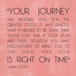 IIYOUR JOURNEY 