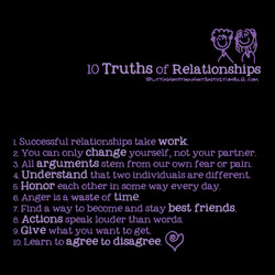 10 Truths of Relationships 