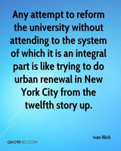 Any attempt to reform 