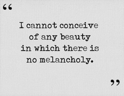 I cannot conceive 