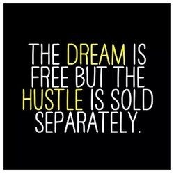 THE DREAM IS 