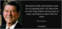 We believe faith and freedom must 