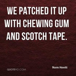 WE PATCHED IT UP 