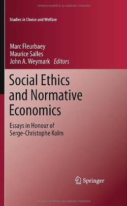 Studies in Cli0ice and Welfare 