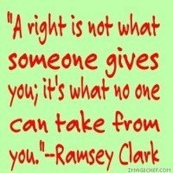 someone gives 