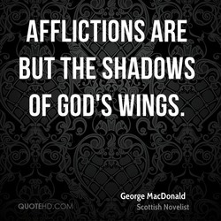 AFFLICTIONS ARE 