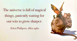 The universe is full of magical 