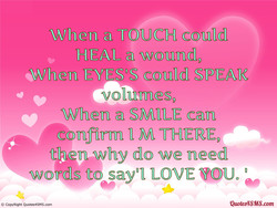 When TOUCH 