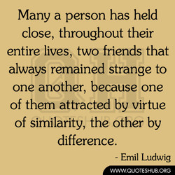 Many a person has held 