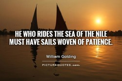 HE WHO RIDES THE SEA OF THE NILE 