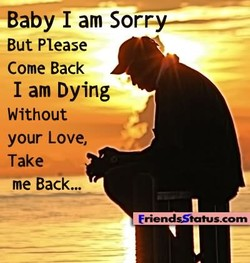 Baby I am Sor 
