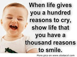 When life gives 