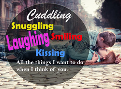 Snuggling 