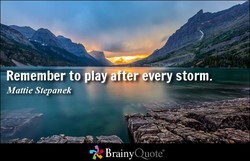 Remember to la 