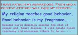 I HAVE FAITH IN MY ASPIRATIONS. FAITH AND A 