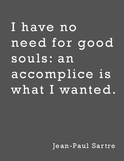 I have no 