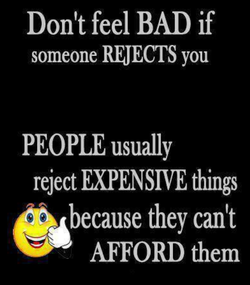 Don't feel BAD if 