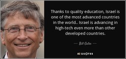 Thanks to quality education, Israel is 