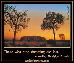 Tbose wbo stop dreamiog are lost. 