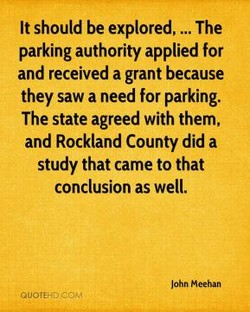 It should be explored, ... The 