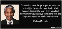 Communists have always played an active role 