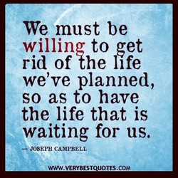 We must be 