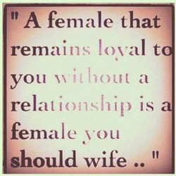 A female that 