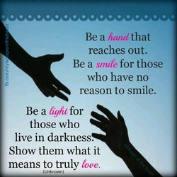 Be a handthat 