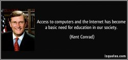 Access to computers and the Internet has become 