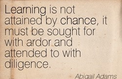 Learning is not 