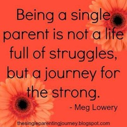 Being a single. 
