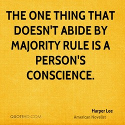 THE ONE THING THAT 
