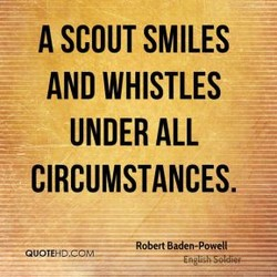 A SCOUT SMILES 