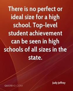 There is no perfect or 