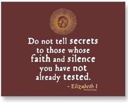 Do not tell secrets 