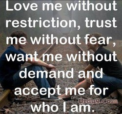 Love me without 