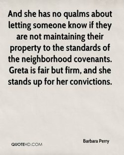 And she has no qualms about 