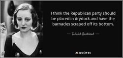 I think the Republican party should 